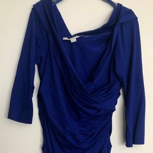 DVF 3/4 length sleeve dress